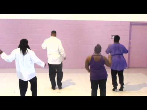 STEP/LINE DANCE JANET JACKSON SHUFFLE BY 360 DEGREE DIVAS & GENTS