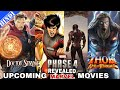 MCU Phase 4 Movies Revealed | Upcoming Marvel Movies after Avengers Endgame | Explained in Hindi