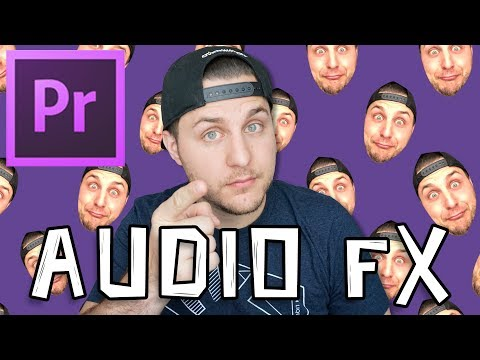 How To Use Audio Effects In Adobe Premiere CC