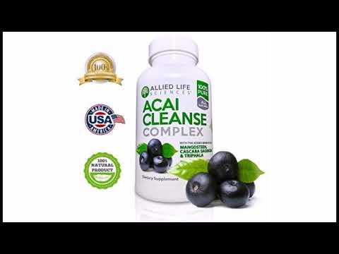 llied Life Acai Berry Cleanse. Potent Acai Berry, TriphalaMangosteen Capsules. A Liver, Colon Clea
