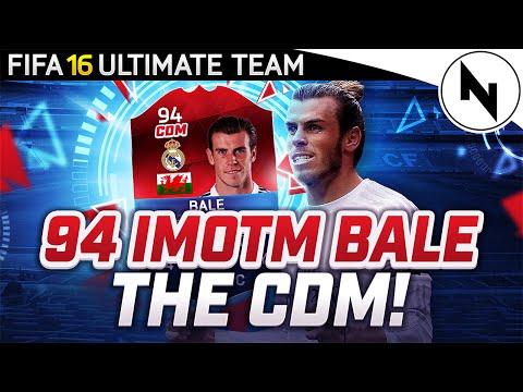 94 RATED iMOTM GARETH BALE - THE CDM!!