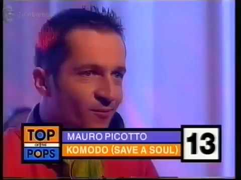 Mauro Picotto Live On top of the pops Komodo Save A Soul TOTP (VHS Capture)
