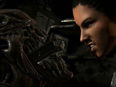 Mortal Kombat X Kombat Pack 2 Gameplay Trailer Fatalities (Alien, Leatherface, Triborg, Bo Rai Cho)