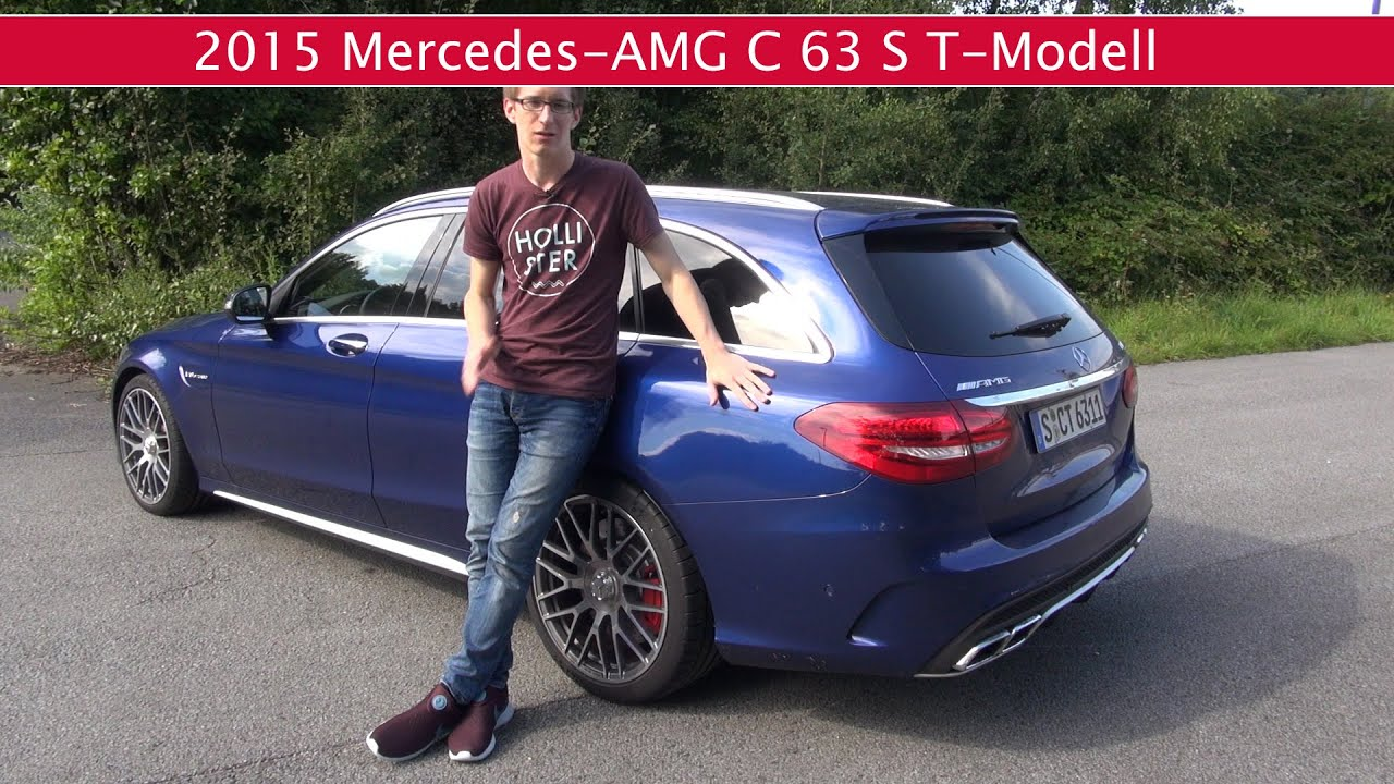 fahrbericht mercedes amg c63 s t modell s205 youtube. Black Bedroom Furniture Sets. Home Design Ideas