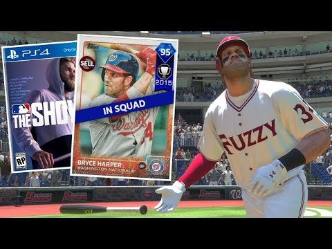 MVP BRYCE HARPER DEBUT! HE'S BACK! MLB THE SHOW 18 DIAMOND DYNASTY
