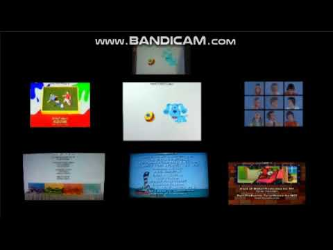 Art Attack, Blue's Clues, Bob, The Brady Bunch, Higglytown Heroes, LHOTP and YGG Credits Remix