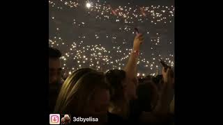 Outbursts of spontaneity for Brian May - O2 Arena 02072018 3dbyElisa