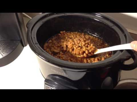 Boston Baked Beans In The Slowcooker