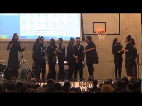 Black History Month Celebration at Evelyn Grace Academy - Pt 2 Acapella Gospel Choir