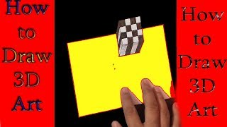 How to Draw 3D Steps ||awesome art trick art.#6