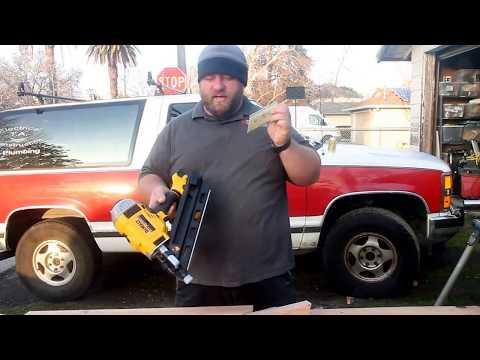 DeWalt framing cordless nail gun dcn692 review
