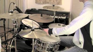 How To Play Use Somebody by Kings Of Leon on Drums - Drum Lesson with The Drum Ninja