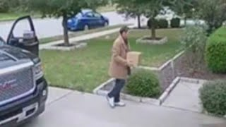 Suspect seen stealing packages from Teravista area