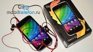 Распаковка Fly IQ4410 Phoenix: тонкий 4-ядерный смартфон с Android 4.2 Jelly Bean
