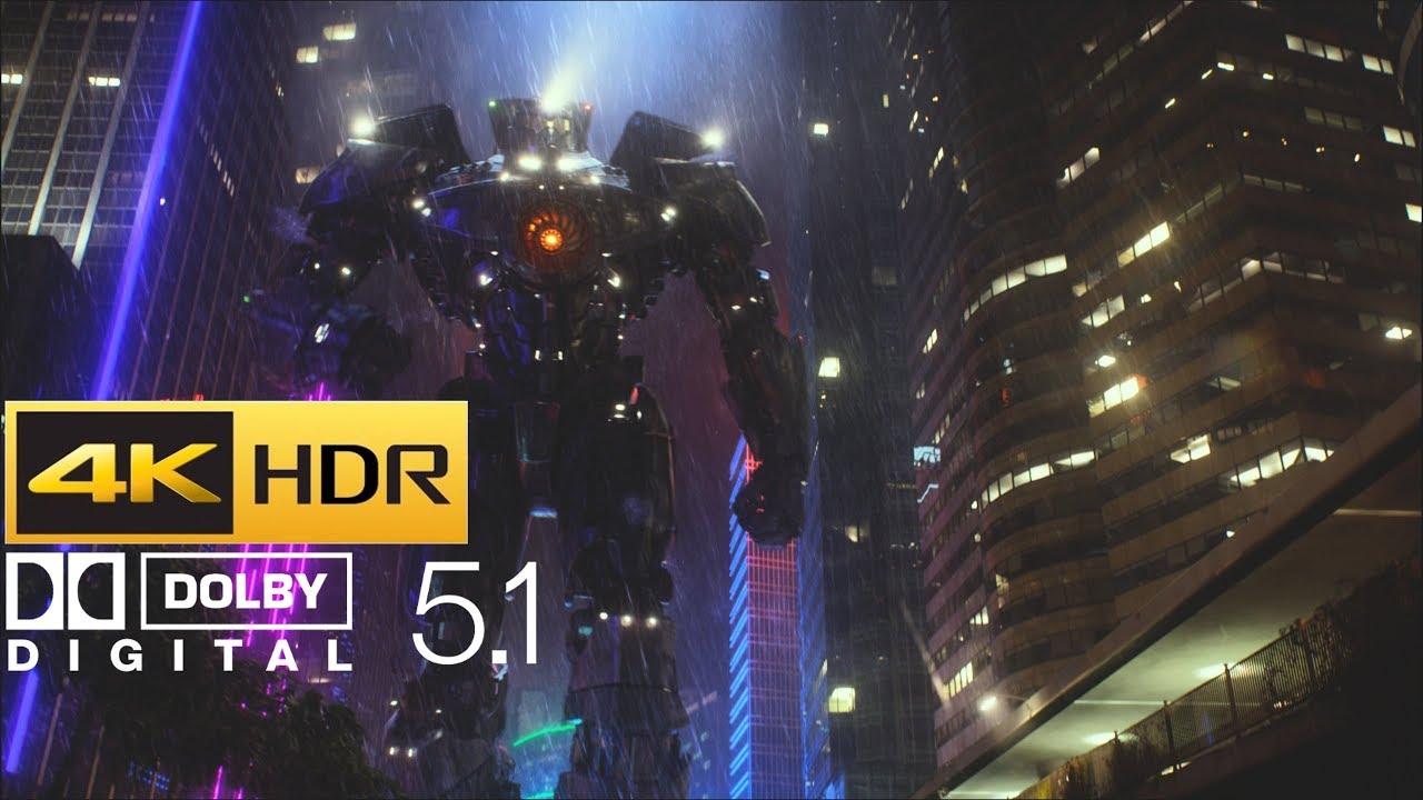 Download Pacific Rim - Gipsy Danger vs Otachi Fight (HDR - 4K - 5.1)