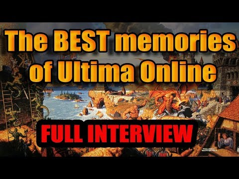 The Best Memories of Ultima Online from a 20 year veteran. (Full Interview)