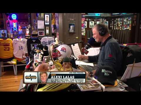 Alexi Lalas on the Dan Patrick Show (Full Interview) 6/20/14