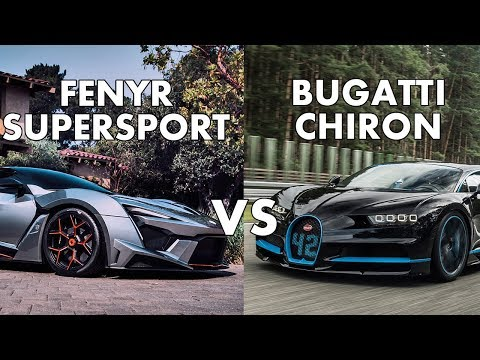 Fenyr Supersport vs Bugatti Chiron-Specifications