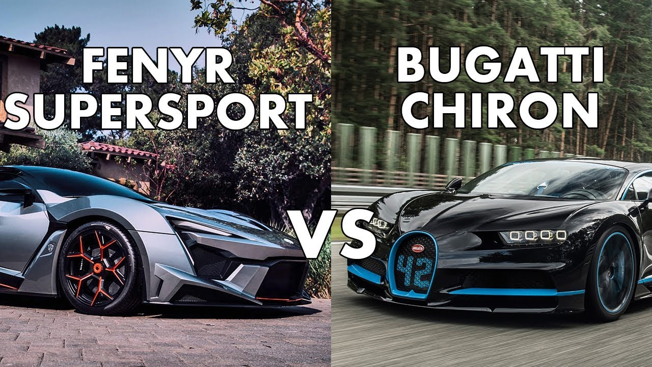 Fenyr Supersport Vs Bugatti Chiron Specifications Youtube