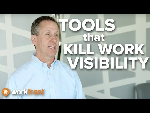 """4 Misused Tools That Kill Work Visibility"" - Marketing Project Management w/ Joe Staples"