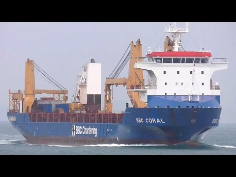 BBC CORAL - BBC Chartering  heavy lift ship - 2015