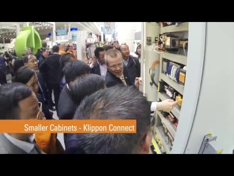 Weidmueller Machinery Solutions Hannover Fair 2016