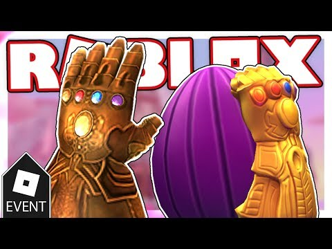 Event How To Get The Thanos Egg And The Infinity Gauntlet In Egg