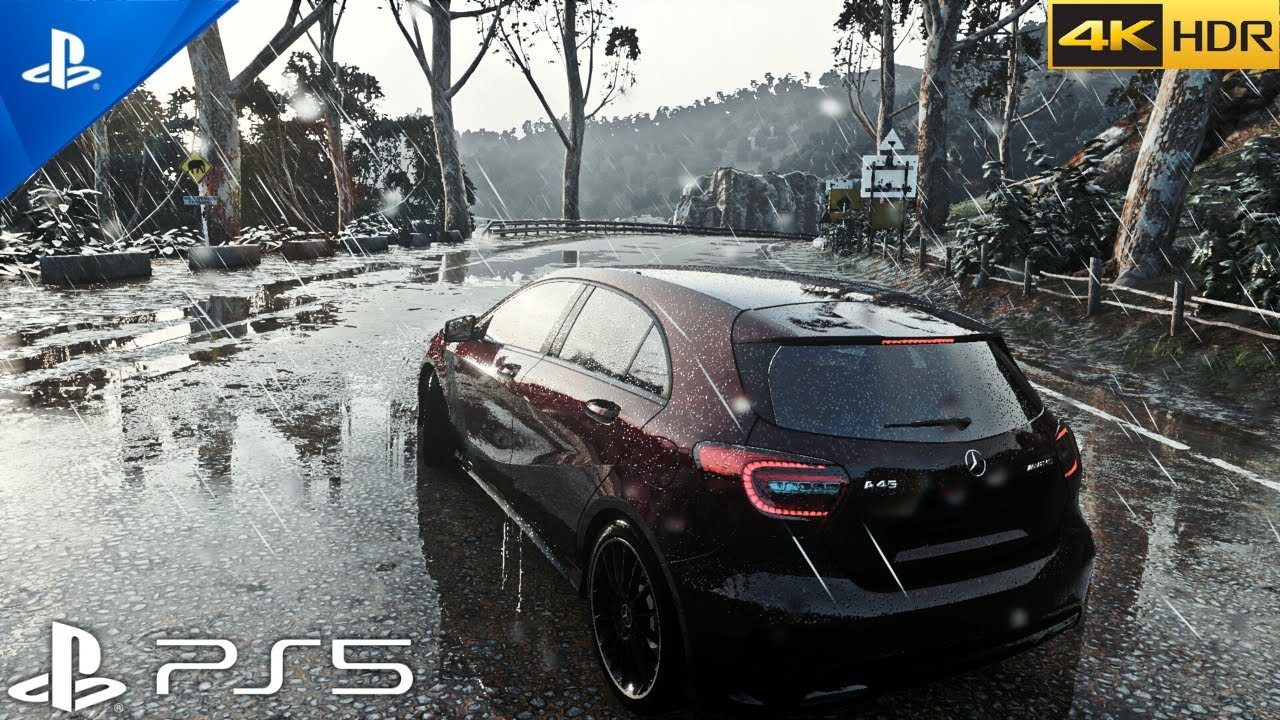 (PS5) DRIVECLUB looks INCREDIBLE on PS5 | Ultra Realistic Graphics [4K HDR 60fps]