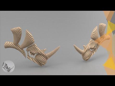 Tutorial rhino 3d crear planos seriados con rhinoceros for Crear planos 3d online