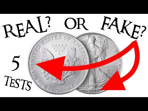 5 Ways To Test For Fake American Silver Eagles!