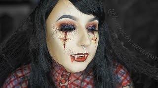 EXTREME Halloween Makeup Tutorial #2