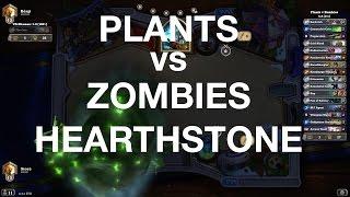 Plants vs Zombies Hearthstone - Sherazin Miracle Rogue