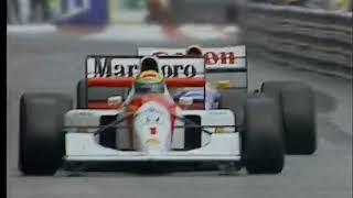 Senna vs Mansell Monaco 1992, Best F1 Battle ever