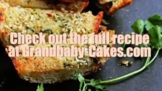 How to make Garlic Bread - Easy Homemade Garlic Bread from Grandbaby Cakes