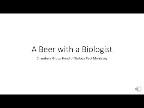 A Beer with a Biologist
