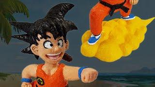 3D Pen Anime Creation ♥ Son-Goku Kid ♥ from Dragonball