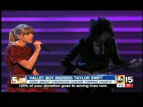 Taylor Swift's song 'Ronan' goes viral