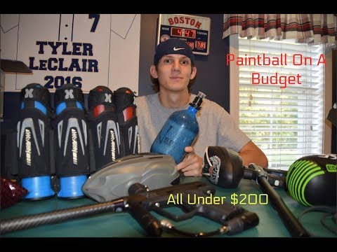 Cheap Paintball Setup (Under $200)