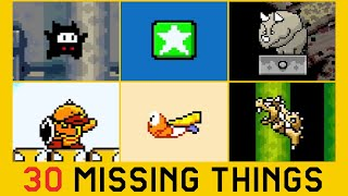 30 SMW Things Missing from Super Mario Maker 2 (Part 2)
