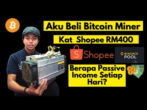 Beli Mesin Bitcoin Mining Kat Shopee Demi Passive Income -Antminer S9 Review - Binance Pool Malaysia