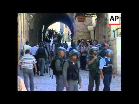 Israeli police, protesters clash at holy site, arrests demo, Fatah reax