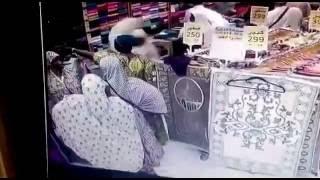 احباط محاولة سرقه في محلات الحلوه التجارية مكة المكرمه