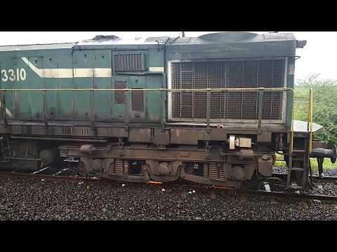 wheel slip in diesel loco  indian railway