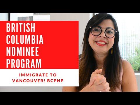 BRITISH COLUMBIA PROVINCIAL NOMINEE PROGRAM 2020 | BCPNP | IMMIGRATE TO VANCOUVER! THE BEST PROGRAM!