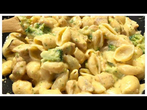 HOW TO MAKE CHICKEN BROCCOLI AND SHELLS RECIPE | The JayLi Life