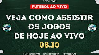 Jogos de Hoje - Como Assistir Futebol Ao Vivo na TV Guia dos jogos Internet Online - 08/10 Futemax