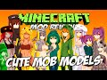 CUTE MOD MODELS MOD MINECRAFT 1.7.10 | ¡Chicas Sexys en Minecraft! | REVIEW ESPAÑOL