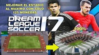 Truco para mejorar el estadio con solo 125 monedas. Dream League Soccer 17 (LEER LA DESCRIPCIÓN)