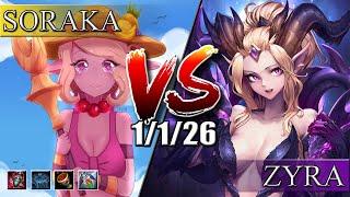 Сорака VS Зайра ➠ патч 9.21 ➠ Soraka VS Zyra