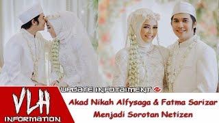Wow!! Akad Nikah Alfysaga & Fatma Sarizar Menjadi Sorotan Netizen💕 Selebgram Alfy Saga Menikah